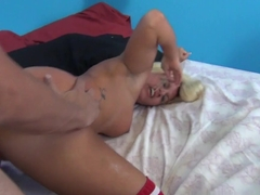 Exotic pornstar Laela Pryce in Horny Blonde, Squirting xxx movie