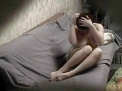 Hidden webcam roommate orgasms