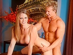 Delilah Blue & Cameron Foster in Bossed Around Video