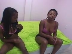 Lesbian ebony amateurs pussy
