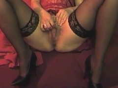 Horny MILF with a hungry cunt