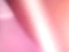 A nice voyeur shot from below of an pinky up skirt
