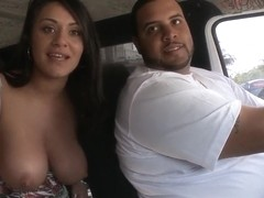 Brunette whore Charley Chase gives head in bang bus