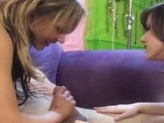 Jenna Presley Gives HandJob To Fan!