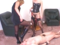 Russian-Mistress Video: Madame Margo & Irina Onyx