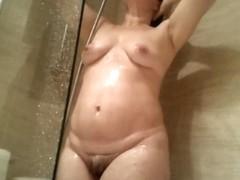 My wife Shower 8-6-14