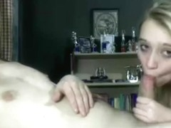 Horny Amateur record with Cunnilingus, Blonde scenes
