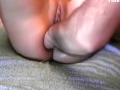 Amateur anal fisting