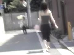 Smooth Asian vixen in really wild street sharking video