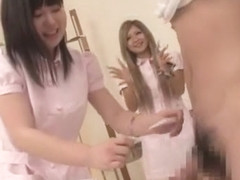 Incredible Japanese chick Maki Takei, AIKA, Jun Mamiya in Amazing Group Sex JAV scene
