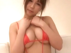 Incredible Japanese chick Nonoka Momose in Amazing Big Tits JAV video
