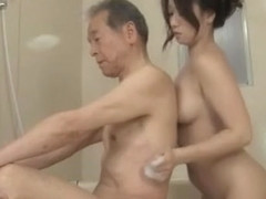 Best Japanese model Ayumi Wakana in Incredible Showers, Big Tits JAV scene