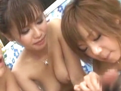 Crazy Japanese chick Haruka Sanada, Mizuki Ishikawa, Meina Minami in Exotic Big Tits, Foot Fetish .