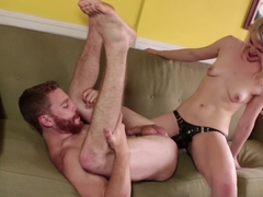 Incredible pornstars Ella Nova, Mike Adriano, Sebastian Keys in Exotic Femdom porn video