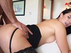 Incredible pornstars Marco Banderas, Bianca Breeze, Ashlyn Molloy in Amazing Stockings, Threesomes.