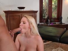Hottest pornstar Vanessa Cage in Incredible Blonde, Facial xxx clip