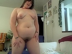 Nice sex toy up my hairy twat