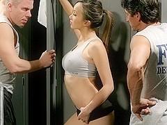 Katsuni, Mick Blue & Tommy Gunn  in Body Heat, Scene 6