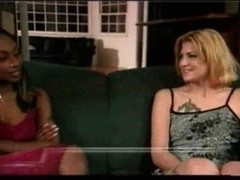 Chocolate lover for sex hungry blond tranny