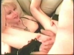 Vintage shemale sucks & gets fucked then