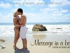 Mia Malkova & Seth Gamble in Message In A Bottle Video