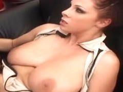 Whire slut used as a fuck toy by a black master