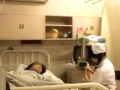 Sweet Japanese nurse dicked in medical fetish video