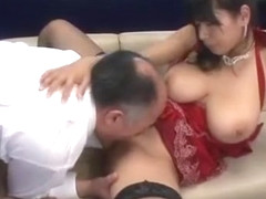 Crazy Japanese girl Honomi Uehara, Hana Haruna, Sawa Nakazato in Amazing Big Tits, Stockings/Pansu.