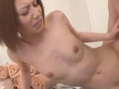 Exotic Japanese whore Risa Mizuki in Incredible Small Tits JAV clip