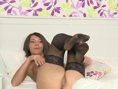 Crazy pornstar Alexis Brill in Hottest Masturbation, Stockings sex movie