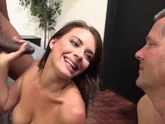 Poor Cuckold Watching Kayla West Getting Slammed