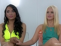 Kitchen Sink Shoot TS Cock Pussy Ass Gaping Anal Cream Pie Palooza