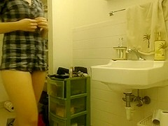 Hidden College Webcam Shower Scene