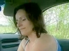 Mature car sex with horny whore