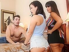 Keisha Grey, Mercedes Carrera, Manuel Ferrara in Couples Seeking Girls #17,  Scene #04