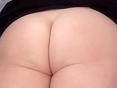Homemade anal : Booty Milf's anal big O