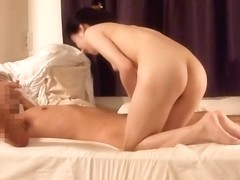 Nice adult amateur video with Asian doggy style