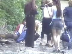 Girls Pissing voyeur video 334