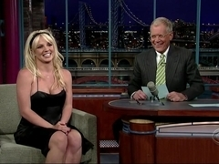 Britney Spears in Britney Spears' Surprise Appearance On Letterman (2006)