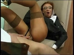 Dressed Business Aged Drilled In The Booty