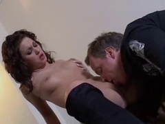 British floozy Renee Richards receives screwed in boots
