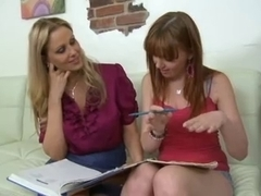 Double Enjoyment With Older & Redhead Legal Age Teenager,By Blondelover.
