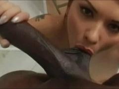 Katja Kassin sucks Lexington Steele close up - DG37