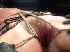 Superb Hot Brunette Milf Rough Treatment 8