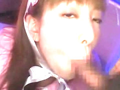 Exotic Japanese model Yuuna Shiomi in Horny Blowjob/Fera, POV JAV clip