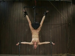 Rain DeGrey Q. How do you make a pain slut cry? A. Bind her on a sybian UPSIDE DOWN until...