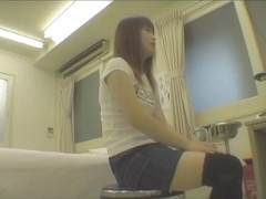Hidden cam gyno examination for the Asian teenager