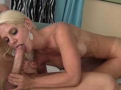 Incredible pornstar Caroline De Jaie in amazing big tits, blonde sex scene
