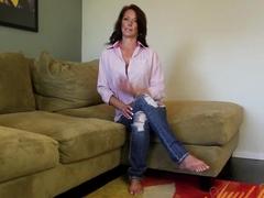 Horny pornstar Mimi Moore in Incredible Masturbation, Mature porn clip