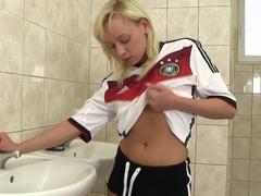 Exotic pornstar Naomi Nevena in hottest masturbation, solo sex movie